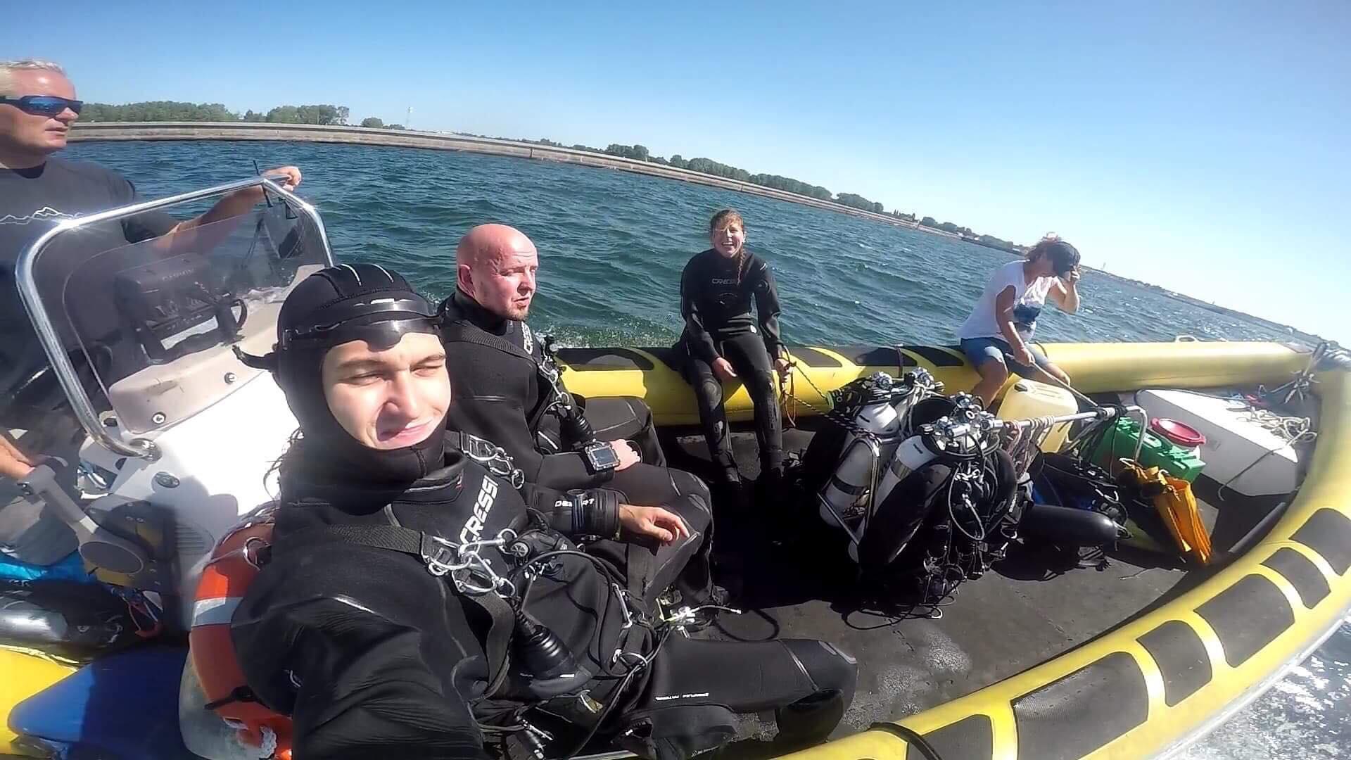 przygotowanie do nurkowania