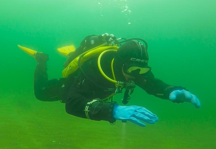 spróbowanie nurkowania Gdańsk